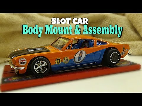 Part 3: B&E Slotsport. Hardbody Slot Car : Body Mounting : 1/24 Scale Slot Car Racing : Model Kits