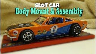 Part 3: B&E Slotsport. Hardbody Slot Car : Body Mounting : 1/24 Scale Slot Car Racing : Model Kits