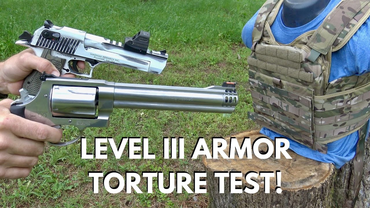 Level III Armor Torture Test and GIVEAWAY!