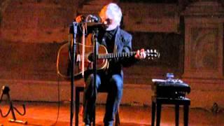 Lee Ranaldo acoustic solo in Padova: Xtina as I knew her - Key/Hole
