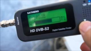 SATHERO SH-100HD DVB S2 DIGITAL SATELLITE FINDER