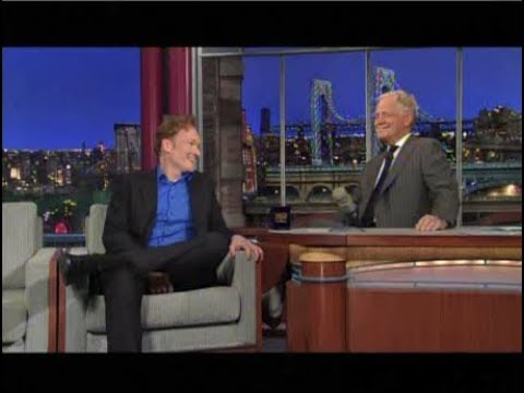 David Letterman and Conan O'Brien, Part 2: 2010-2012