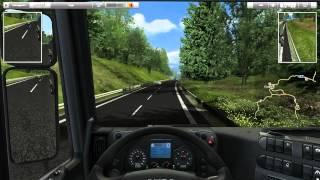 German Truck Simulator - Епизод 1 ( Алекс )