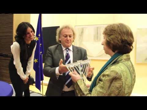 Catherine Ashton hosts EuroChanukah 2013