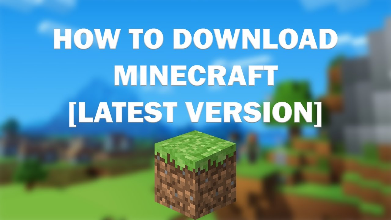 Free Minecraft full version pc game Download
