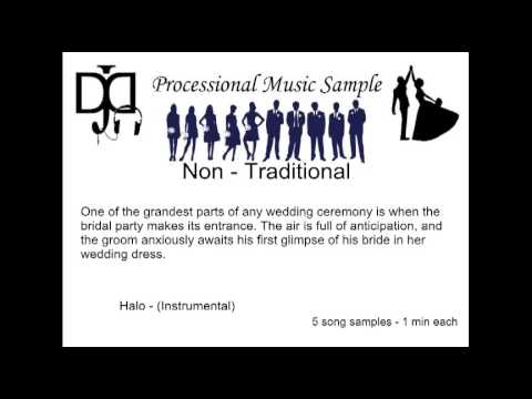 Non Traditional Wedding Music Processional