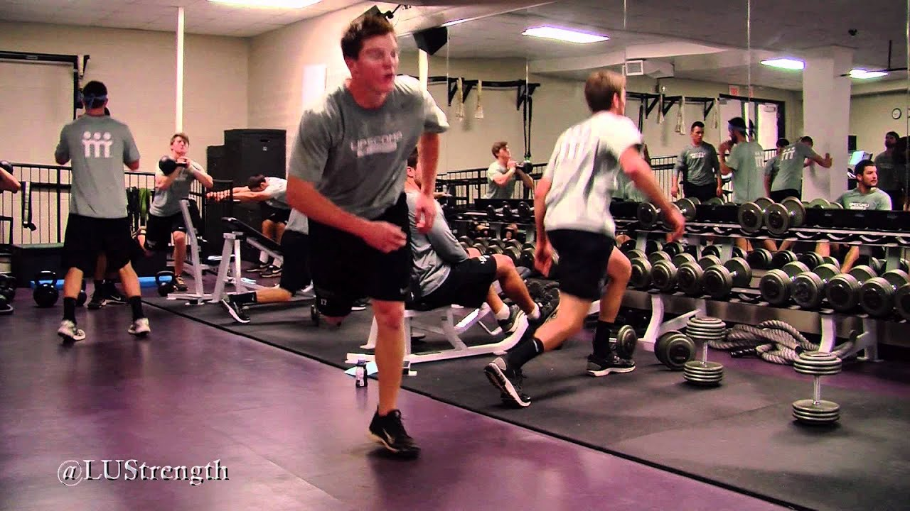 Weight Room Wednesday Lipscomb Baseball Workout