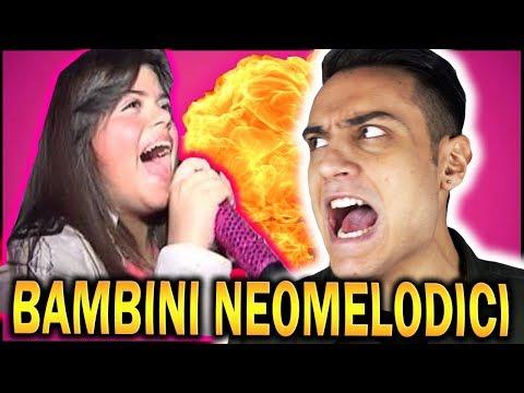 IL DISAGIO delle Canzoni NEOMELODICHE DEI BAMBINI | Awed™