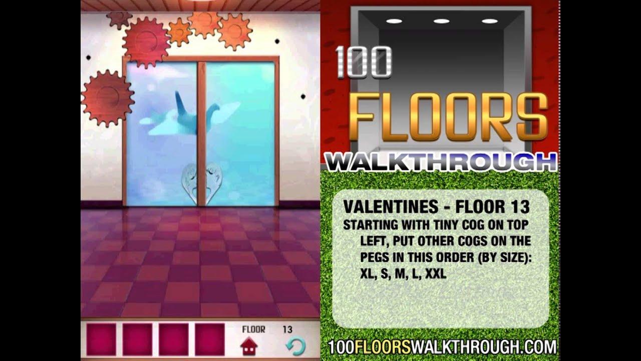 100 Floors Valentines Special Floor 13 Seasons Tower