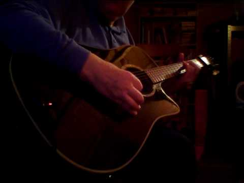 "D-G-D-G-A#-D -Open G-Minor tuning - ""Tarragona"" - Part 1"