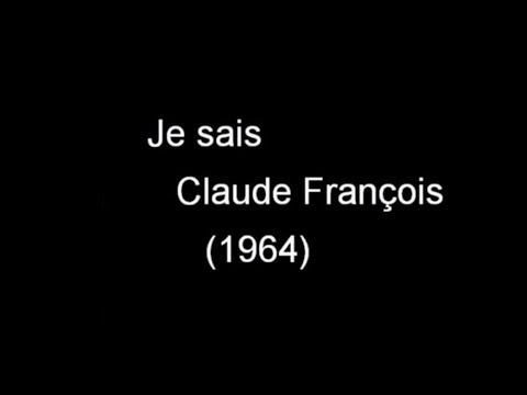 Je Sais - KARAOKE - Claude François