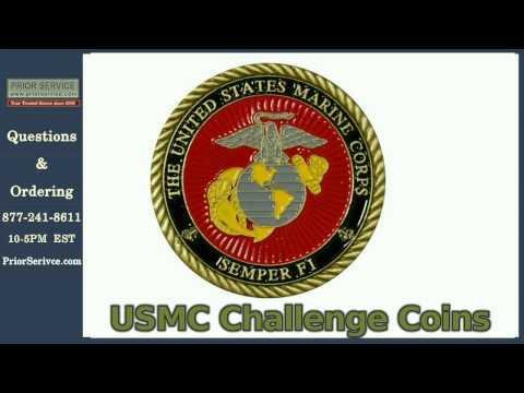 USMC Challenge Coins   Prior Service