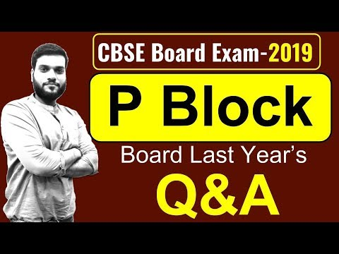 (Board Exam) || P Block || Most Important Board Q&A || Live Practice || By Arvind Arora