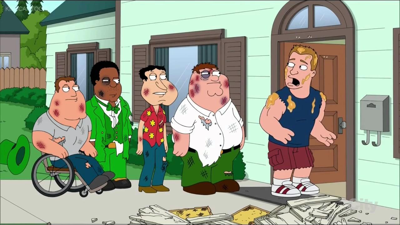 Family Guy Rob Gronkowski Hates Bees