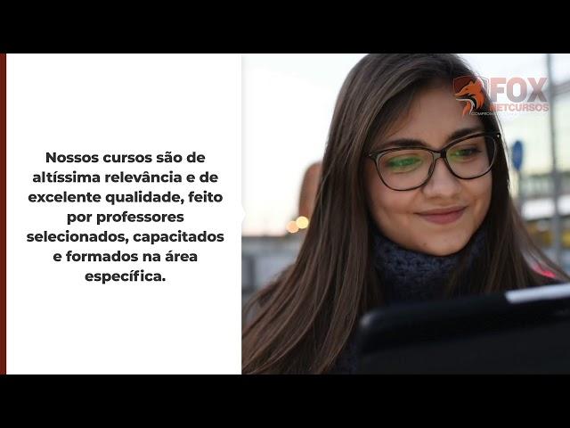 PORTFÓLIO PRODUZ VÍDEO |  PROJETO: FOX Netcursos