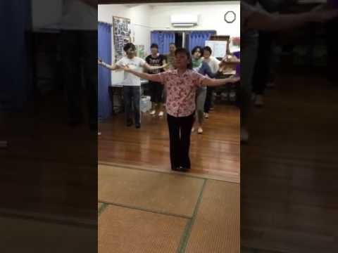 安里屋ユンタ宮平ハイツ盆踊り練習2017