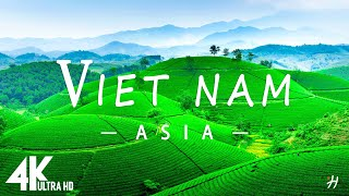 FLY NG OVER V ETNAM 4K UHD - Relaxing Music Along With Beautiful Nature Videos 4K Video Ultra HD