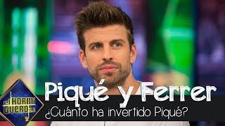 Pablo Motos pregunta a Gerard Piqué cuánto dinero ha invertido en la Copa Davis - El hormiguero 3.0