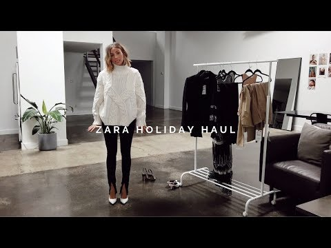ZARA HOLIDAY HAUL