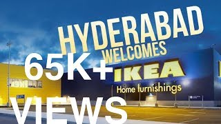 Ikea Hyderabad | First Look | 9th August Opening | Biggest store | India's First