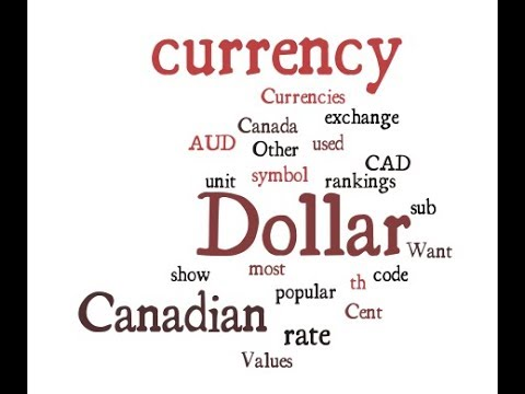 Canadian Currency - Dollar
