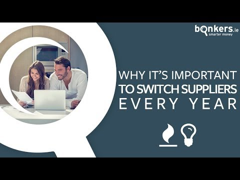 Why it's important to switch energy suppliers every year