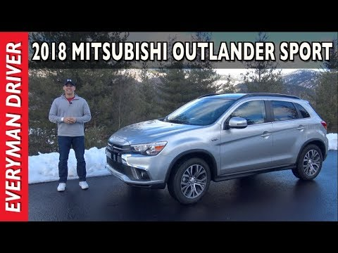 Here's the 2018 Mitsubishi Outlander Sport on Everyman Driver