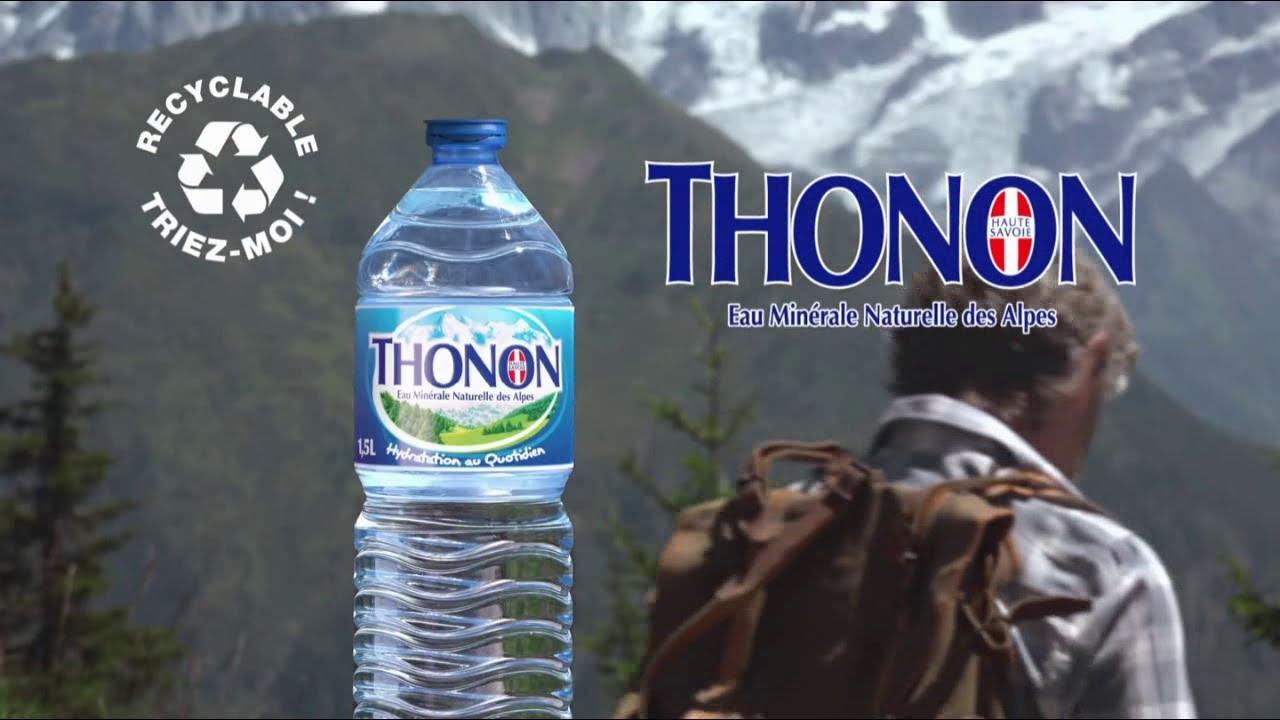 """Musique de la pub Thonon """"eau minérale naturelle des Alpes"""" Pub 12s 2021"""
