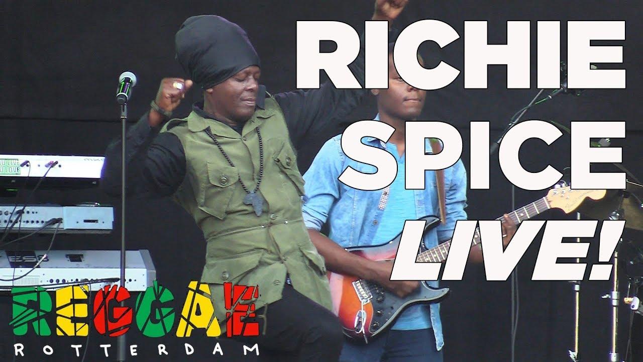 RICHIE SPICE LIVE @ REGGAE ROTTERDAM FESTIVAL 2018 FULL SHOW