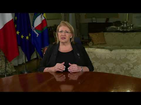 Stop Stigma Launch Message by Her Excellency the President of Malta Marie Louise Coleiro Preca