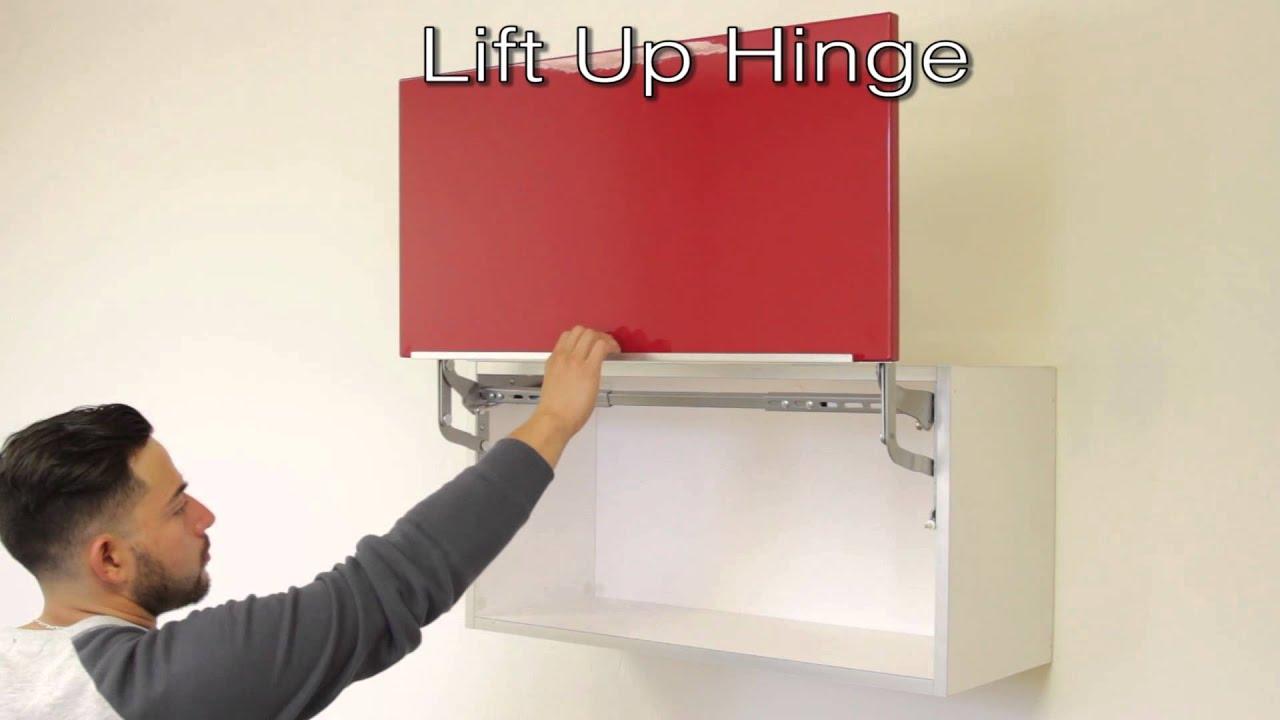 Cabinet Door Lift Up Hardware  Cabinets Matttroy