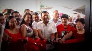 Convive Samuel Gurrión con la militancia del PRI en Loma Bonita, marzo 2015