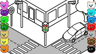 city street coloring pages - photo#22