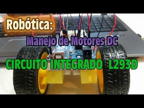 Robotica - Manejo de Motores DC con Circuito Integrado L293D
