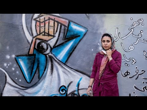 Shamsia Hassani's Art Brings Hope to Kabul's Streets
