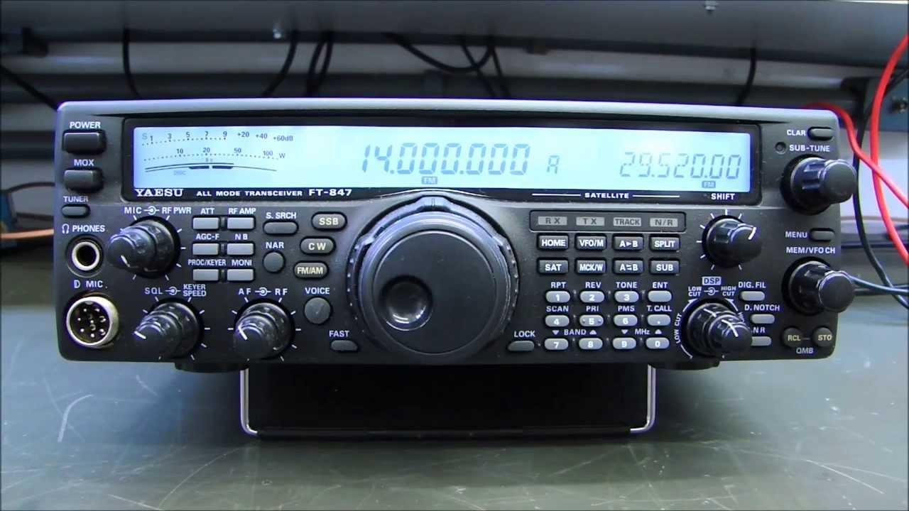 ALPHA TELECOM: YAESU FT-847 SEM POTÊNCIA EM HF e 50Mhz