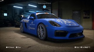 Need For Speed 2015 - Porsche Cayman GT4 2015 - Customize Car | Tuning (XboxONE HD) [1080p]
