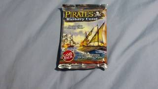 Opening a pack of Pirates of the Barbary Coast