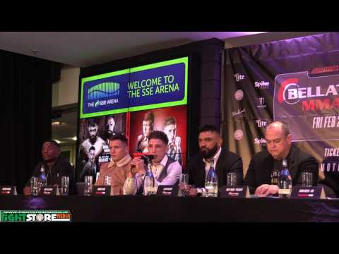BAMMA 28 / Bellator 173 Press Conference from the SSE Arena, Belfast