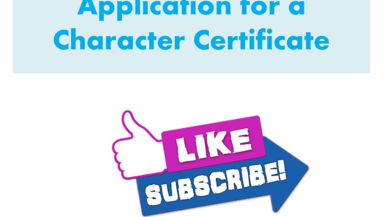 Application for a character certificate in urdu hindi youtube application for a character certificate in urdu hindi thecheapjerseys Choice Image