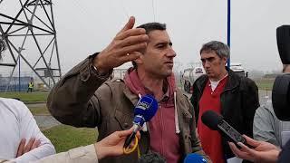 François Ruffin à Sanofi à Mourenx pour dénoncer les rejets toxiques