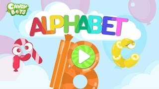 Candy ABC Alphabet Part 2 (Candybots) - Learn A to Z Phonics - Education apps for kids