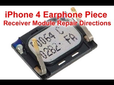 iphone ear speaker not working how to iphone 4 ear speaker replacement 17641