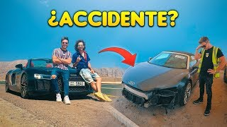 LA VERDAD DEL ACCIDENTE AUDI R8 | CEMENTERIO AUTOS ACCIDENTADOS