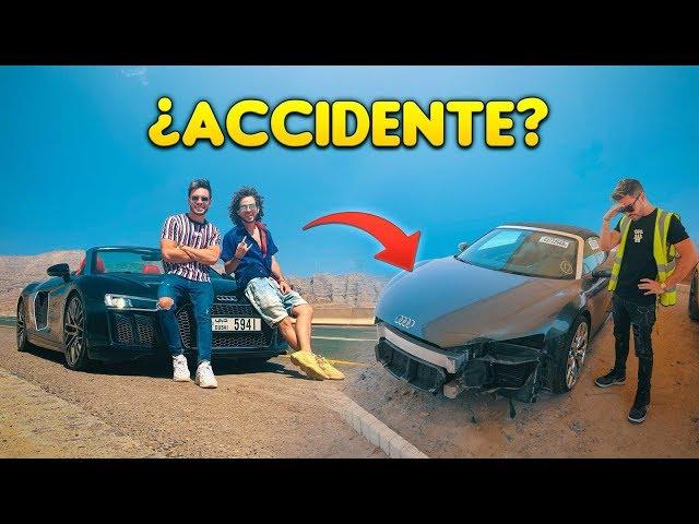 LA VERDAD DEL ACCIDENTE AUDI R8   CEMENTERIO AUTOS ACCIDENTADOS