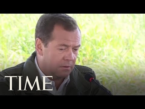 Russian Prime Minister Says U.S. Sanctions Will Be Considered An Act Of 'Economic War' | TIME