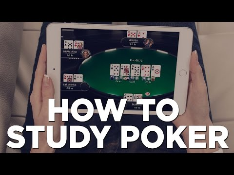 How To Study & Improve In Online Poker