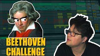 Einen Beat produzieren ohne ihn zu hören #Beethovenchallenge | Vincent Lee