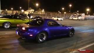LSx Mazda RX-7 vs Supercharged Camaro SS