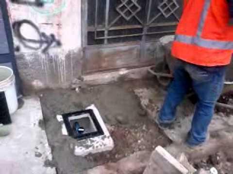 Instalacion de medidor de agua casa marcelino mu oz 4 - Medidor de agua ...